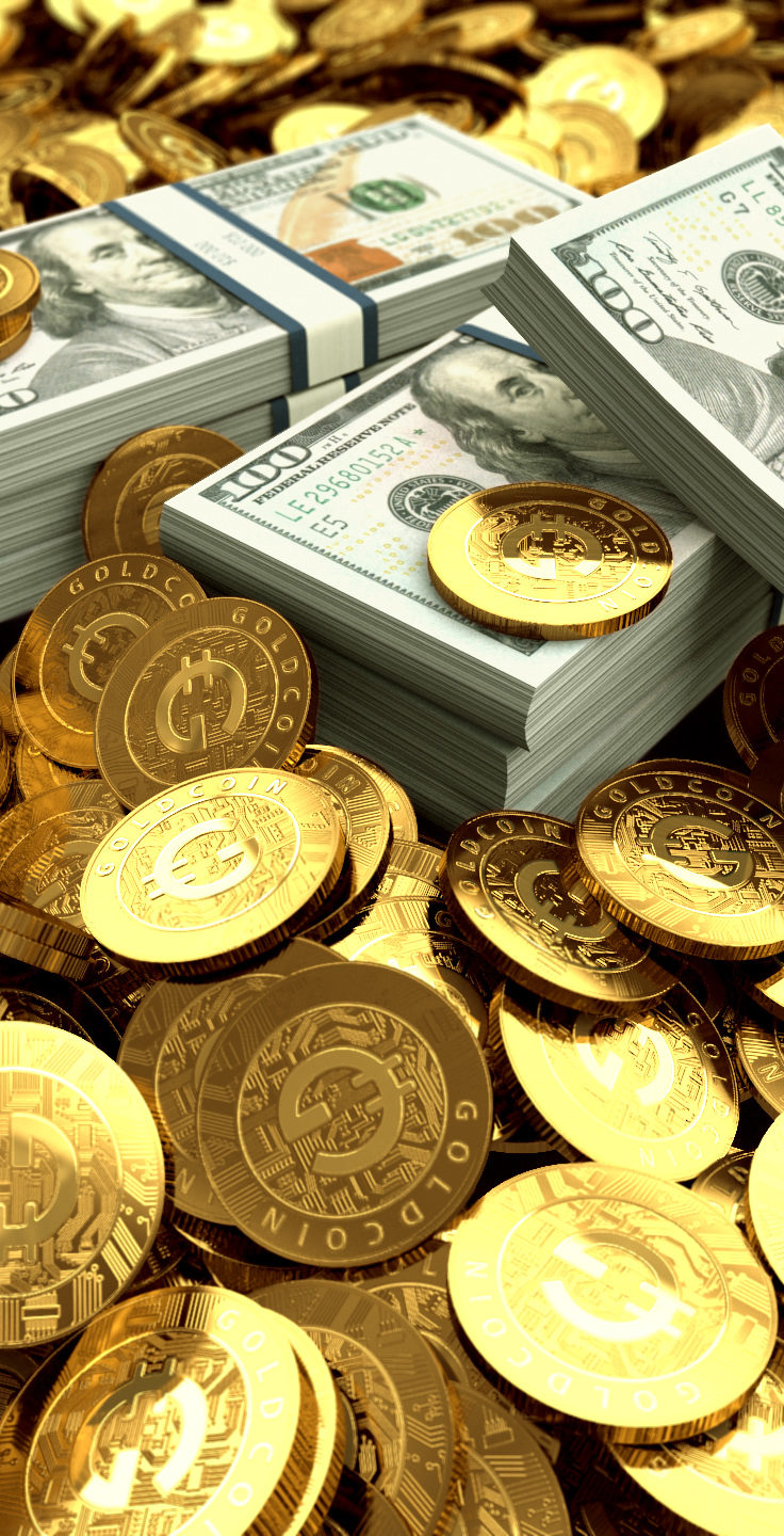 AFTER BITCOIN BUBBLE, INVESTORS WILL SEEK GOLDCOIN (GLD)