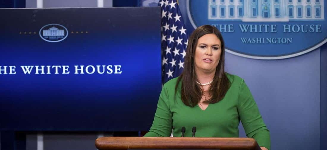 White House Press Secretary Reveals a Team Is Monitoring Cryptocurrencies Like Bitcoin